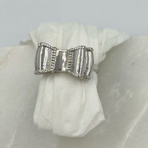 Kate Spade Silver Bow Ring